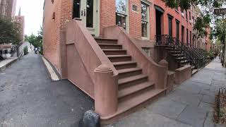 ⁴ᴷ⁶⁰ Walking NYC (Narrated) : Cobble Hill, Brooklyn (October 7, 2019)