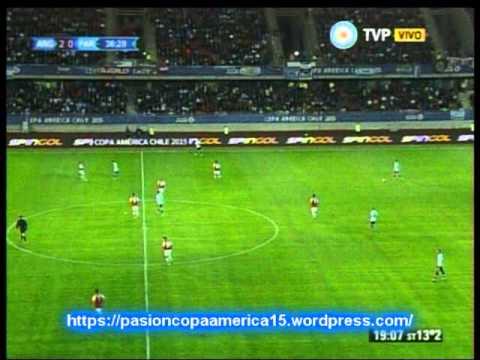 Argentina 2 Paraguay 2 ( ADN Radio Chile 91.7) Copa America 2015