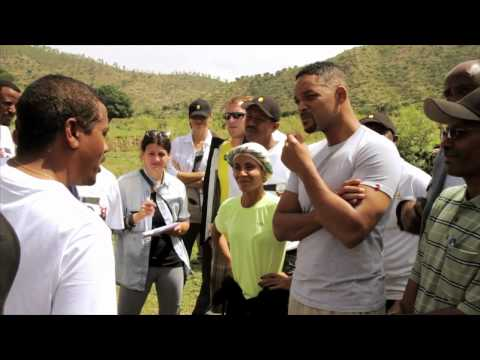 Jada Pinkett Smith And Will Smith Visit Charity  Water Projects In Ethiopia - Www.addisallaround video