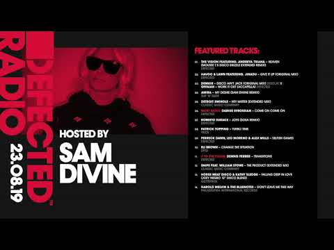 Defected Radio Show presented by Sam Divine: Croatia Special - 23.08.19