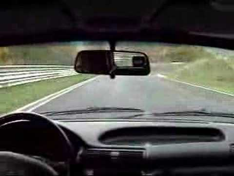 Astra GSi 16V on Nürburgring