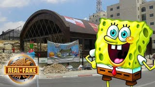 SPONGEBOB RESTAURANT IN REAL LIFE - real or fake?