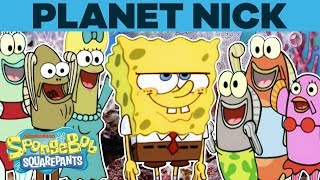 Planet Nick 🌎 SpongeBob SquarePants | #TBT