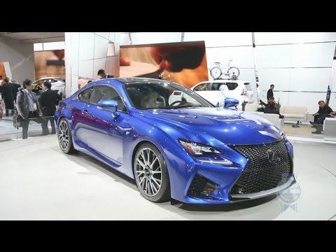 2015 Lexus RC F - 2014 Detroit Auto Show
