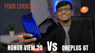 Honor View 20 Vs OnePlus 6T - The Flagship Killer KILLER?