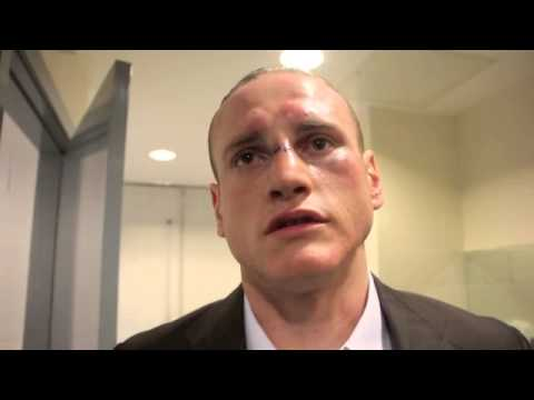 GEORGE GROVES REACTS TO 7th ROUND STOPPAGE OF DOUGLIN & TALKS DeGALE BACKSTAGE WEIGH IN BUST UP