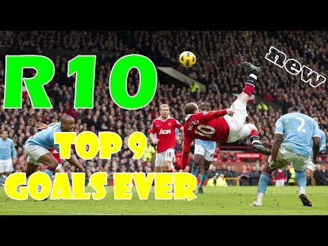 Wayne Rooney ● Top 9 Goals Ever ● Video by TNL510