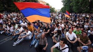 Майдан в Армении (Электромайдан) - против налогов или против России?