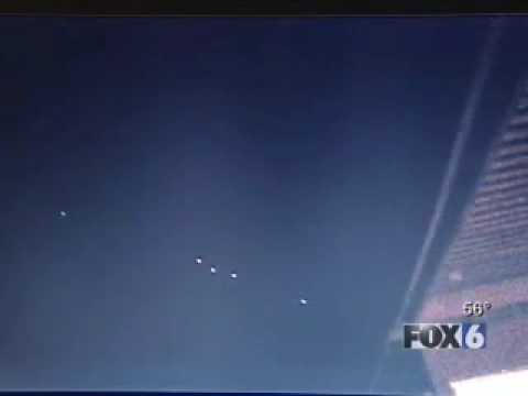 UFO sighted 1-1-08 in San Diego Video
