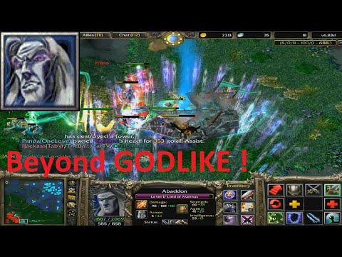 DotA 6.83d - Lord of Avernus, Abaddon Beyond GODLIKE !
