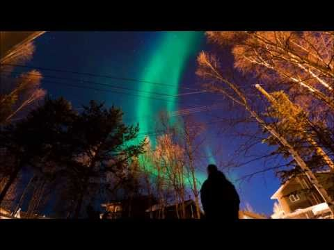 Canadian Arctic Aurora Borealis aka northern lights from Tuktoyaktuk - the spirits come alive