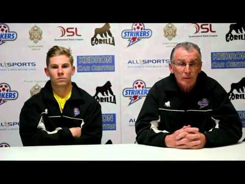 Brisbane Strikers post-match interview