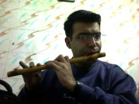 Malgudi Days Title Tune On Wodden Flute.wmv video