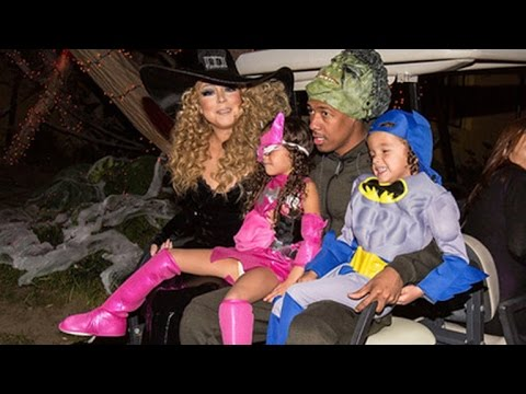 EXCLUSIVE: Mariah Carey Celebrates Halloween with Nick Cannon and Their Twins, Talks Co-Parenting