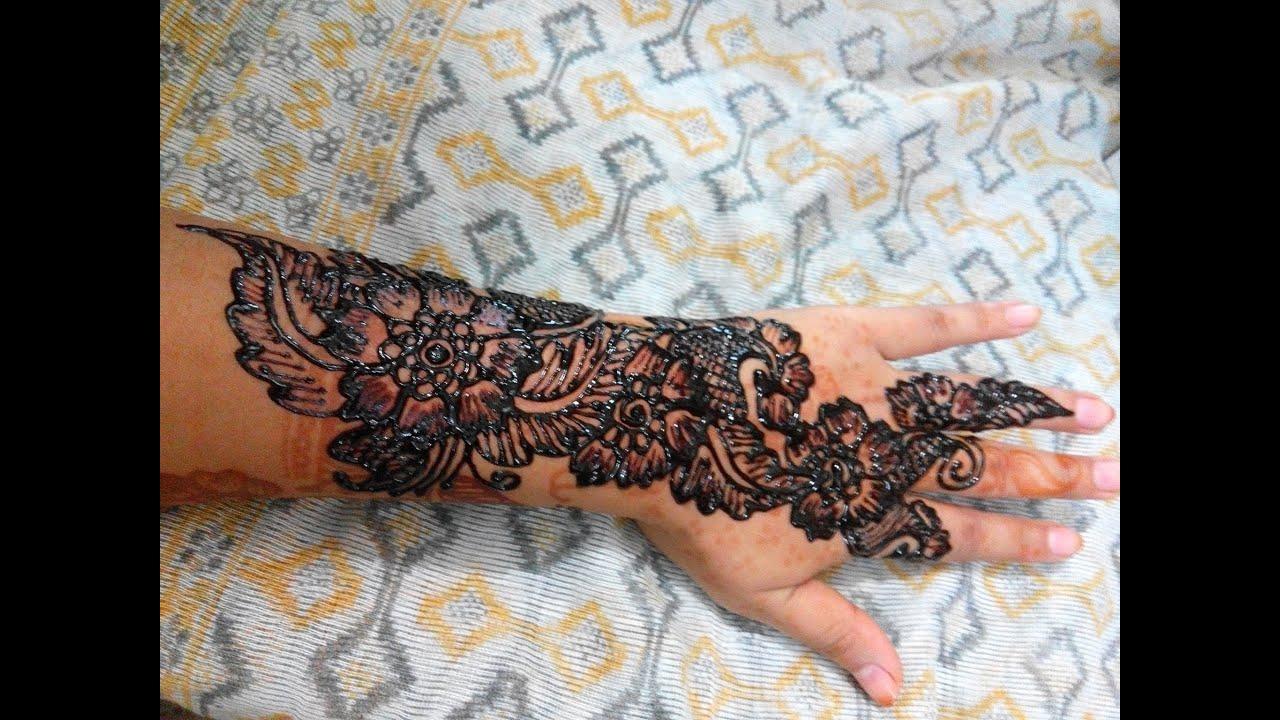 Simple Easy Mehndi Designs - Full Hand Bridal HennaMehndi ...