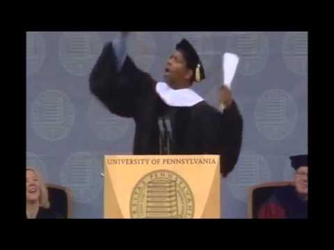 Denzel Washington. Best Part of Commencement Speech!