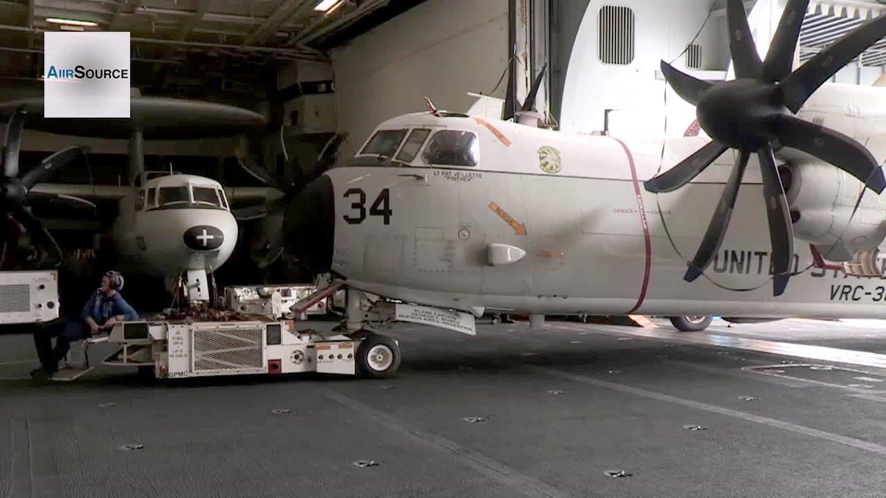 Air Craft Carrier Hanger
