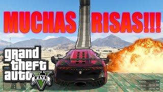 JODIENDO CARRERAS Y MUCHAS RISAS!!! (PARTE 2) - CARRERAS GTA5 ONLINE.