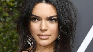 Kendall Jenner Addresses Her Golden Globes Acne in Bold Fashion!