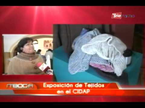 Exposición de tejidos en el CIDAP