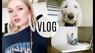 I VLOGGED MY WEEK / Christmas Parties, Photoshoots, and Chicago / Kallie Kaiser