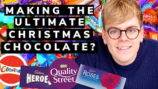 Melting EVERY Christmas Chocolate together! 🇬🇧🍫