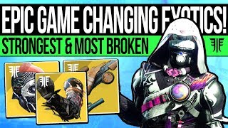 Destiny 2 | The Most GAME CHANGING Exotics: Infinite Supers, PvP Destroyers & Best DLC Exotics!