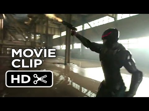 RoboCop Movie CLIP - Field Test (2014) - Joel Kinnaman Movie HD