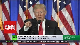 Trump vs MSM: US journalists promise to 'set higher standards' after 'fake news' frenzy