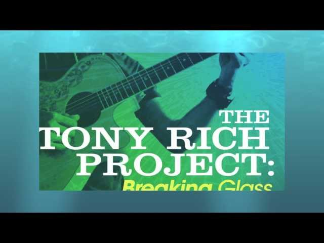 The Tony Rich Project - Breaking Glass (Lyric Video)