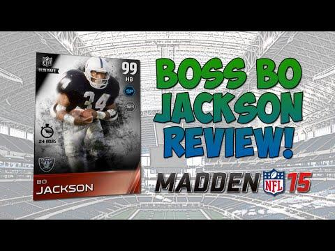 BOSS BO JACKSON REVIEW! - Madden 15 Ultimate Team | Best HB Ever?!