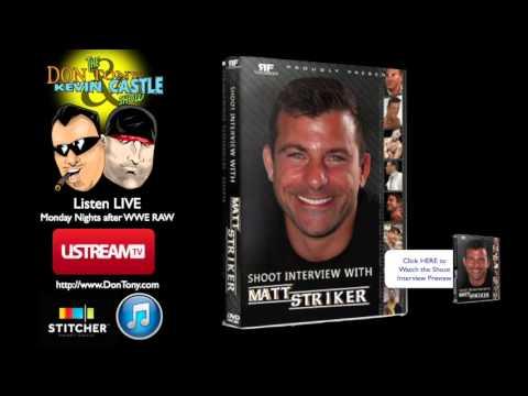 Matt Striker Shoot Interview DVD Review