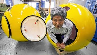 THIS CAPSULE WITHSTANDS A TSUNAMI STRIKE, 7 BRILLIANT INVENTIONS THAT WILL SAVE YOUR LIFE