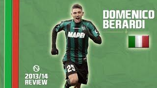 DOMENICO BERARDI   Goals, Skills, Assists   Sassuolo   2013/2014 (HD)