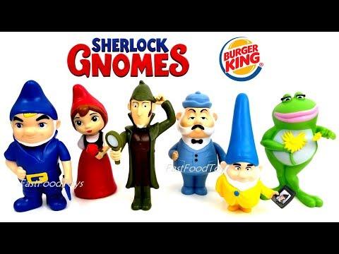 2017 2018 burger king jr sherlock gnomes gnomeo juliet 2
