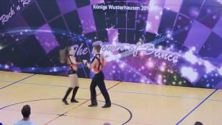 Lara Armauer & Christian Langer - Deutsche Meisterschaft 2016