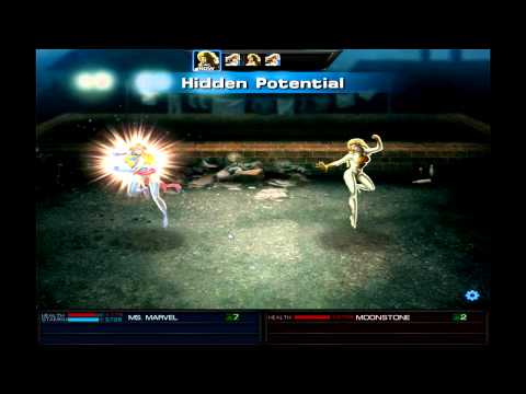 Marvel: Avengers Alliance - Season 2 Ch 3.2 Heroic Battle: Ms. Marvel Vs. Moonstone