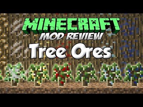 TREE ORES MOD - ¡Árboles de ores! [Forge][1.7.10][Español]