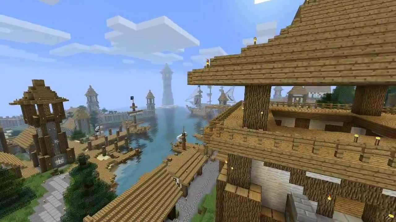 Minecraft Medieval City Download Minecraft Medieval City