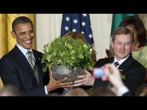 Shamrock ceremony in the White House
