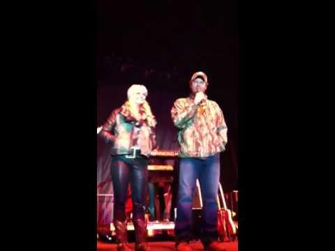 Blake Shelton and Miranda Lambert introducing Neal McCoy Pi