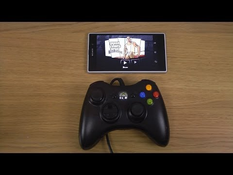 Grand Theft Auto: San Andreas Sony Xperia Z1 Xbox 360 Controller Gameplay Test