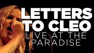 Letters to Cleo - 2016.11.19 Paradise Rock Clubでのフル・セット映像86分を公開 thm Music info Clip