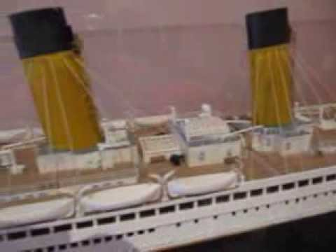TITANIC MODEL by Hachette       Anniversary 1912-2012