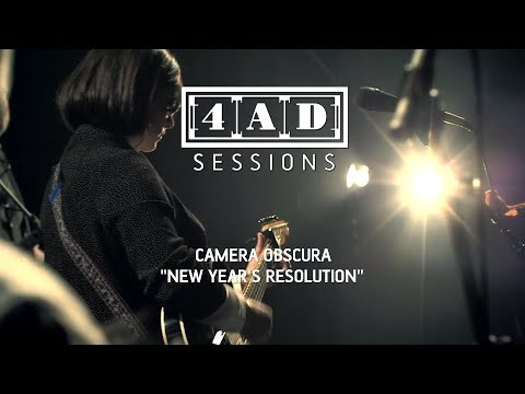 Camera Obscura - New Year's Resolution (Live @ 4AD Session, 2013)