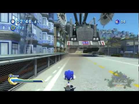 Sonic Generations 100% Walkthrough [Red Ring Guides] - City Escape Modern