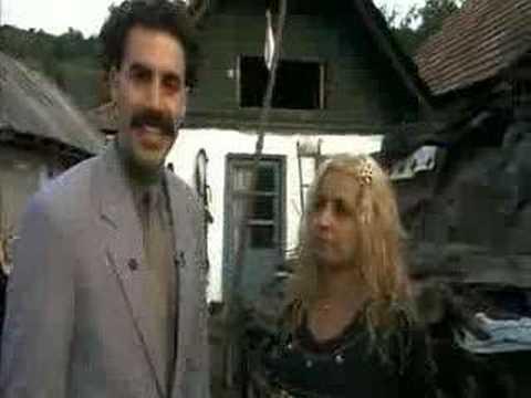 Borat : trailer italiano