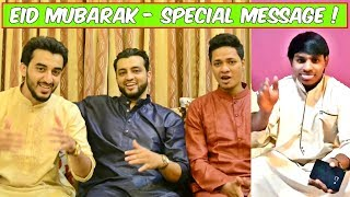 Eid Mubarak - Special message from The Baigan Vines !