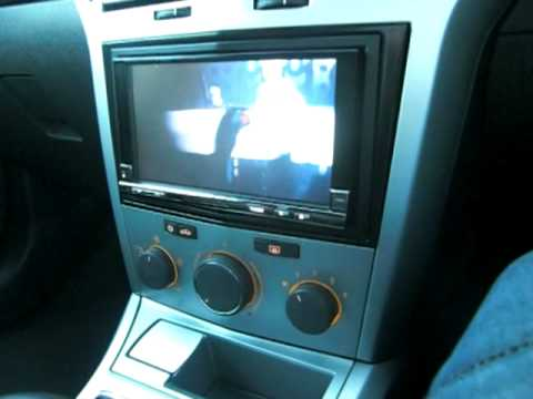 White Astra touch screen