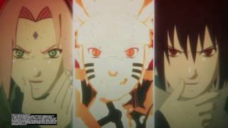 Gamakichi, Aoda, Katsuyu vs Ten Tails Boss Fight